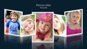 Album 2 Powerpoint Presentation Template within Powerpoint Photo Album Template