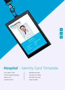 Amazing Hospital Identity Card Template Download | Free regarding Free Id Card Template Word