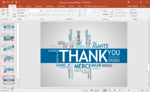Animated Design Your Words Powerpoint Template within How To Design A Powerpoint Template