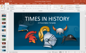 Animated History Powerpoint Template regarding Powerpoint Replace Template