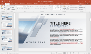Animated Lucid Grid Powerpoint Template throughout Replace Powerpoint Template