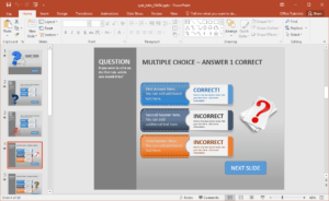 Animated Powerpoint Quiz Template For Conducting Quizzes inside Trivia Powerpoint Template