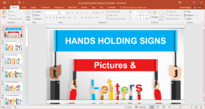 Animated Signboards Powerpoint Template regarding Replace Powerpoint Template