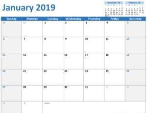 Any Year Custom Calendar for Microsoft Powerpoint Calendar Template