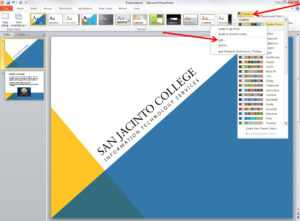 Applying And Modifying Themes In Powerpoint 2010 in Change Template In Powerpoint