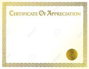Appreciation Awards Certificates – Tomope.zaribanks.co for Certificate Of Appreciation Template Free Printable
