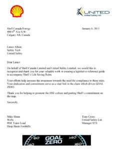 Appreciation Letter Consistent Performance ] – Letter Sample in Safety Recognition Certificate Template