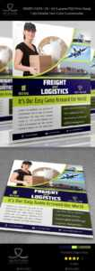 Aramex Graphics, Designs & Templates From Graphicriver with regard to Fedex Brochure Template