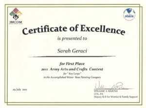 Art Award-Certificate-Templates inside Free Art Certificate Templates