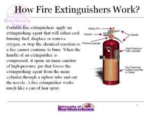 Atlantic Training's Fire Extinguisher Training Powerpoint intended for Fire Extinguisher Certificate Template
