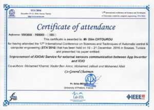 Attendances with Conference Certificate Of Attendance Template