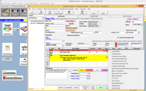 Auto Repair Invoice Software | Workshop Manager Software with Mechanics Job Card Template
