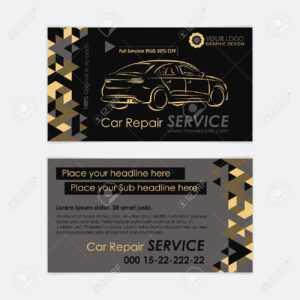 Automotive Service Business Card Template. Car Diagnostics And.. throughout Automotive Business Card Templates