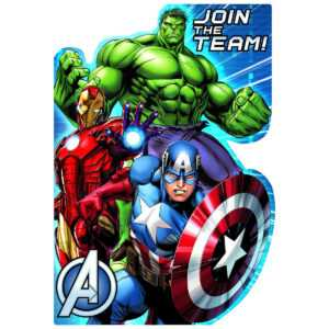 Avengers Birthday Card Template – Best Happy Birthday Wishes intended for Avengers Birthday Card Template