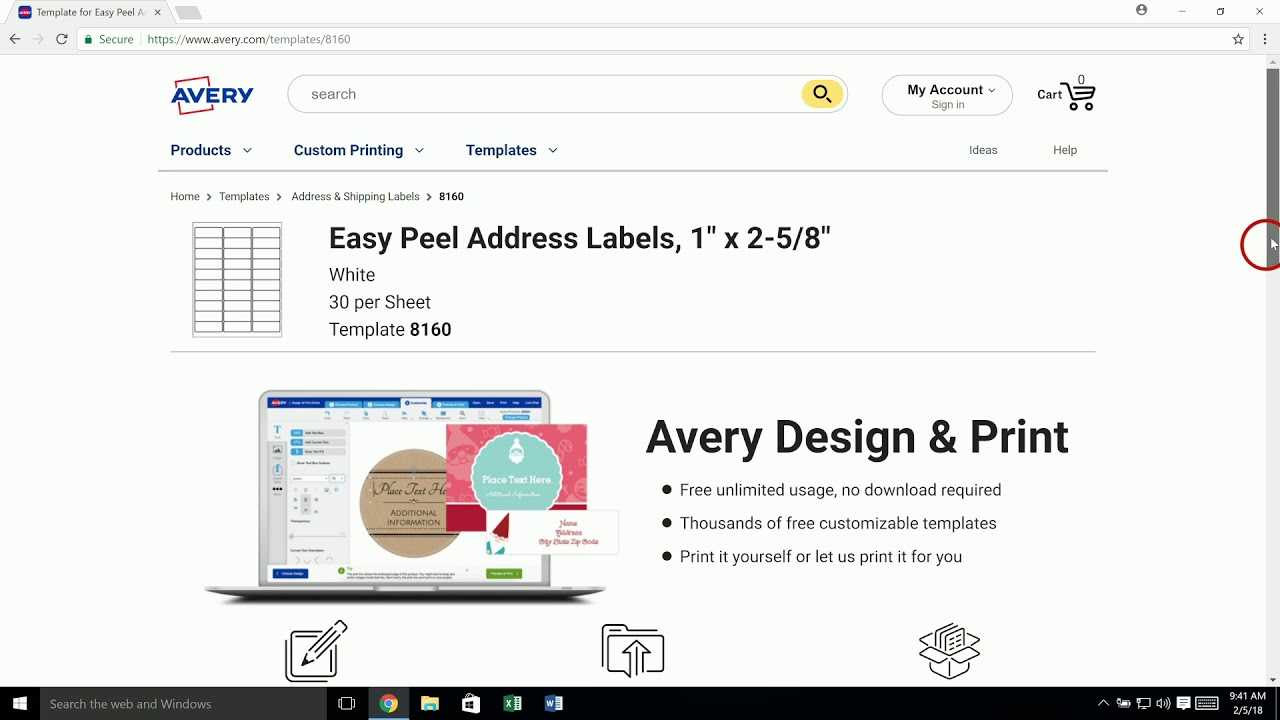 Avery Templates In Microsoft Word | Avery Throughout Index Card Template Open Office