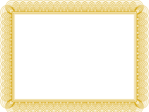 Award Certificate Border Png 2 » Png Image throughout Award Certificate Border Template
