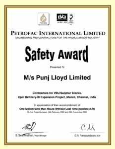Award Puns inside Safety Recognition Certificate Template
