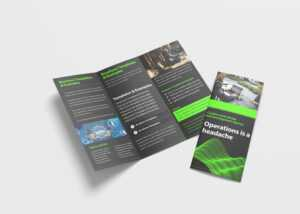Awesome Business Tri Fold Brochure Design Template – 99Effects with regard to Pop Up Brochure Template