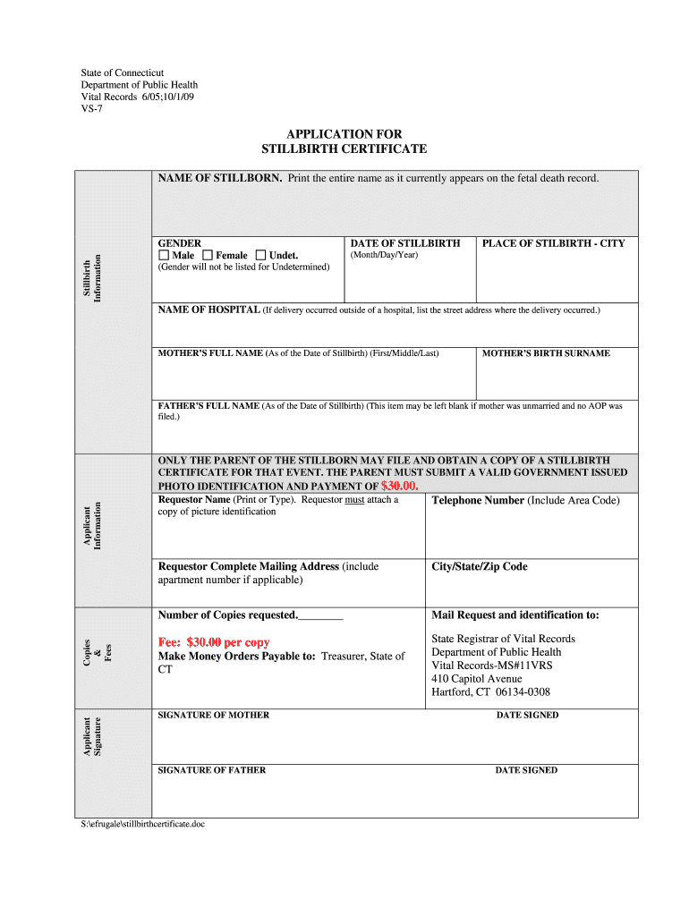 Baby Death Certificate Template - Fill Online, Printable With Regard To Baby Death Certificate Template