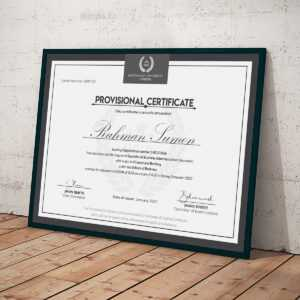 Bachelors Degree Certificates Templates – Ardusat regarding Novelty Birth Certificate Template