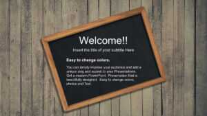 Back To School Free Powerpoint Template pertaining to Back To School Powerpoint Template