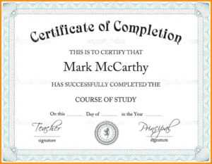 Baptism Certificate Template Word – Heartwork throughout Professional Certificate Templates For Word