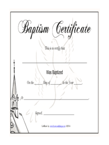 Baptism Certificates Templates – Fill Online, Printable regarding Baptism Certificate Template Word