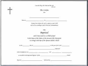 Baptism Class Certificate Template – Carlynstudio Pertaining To Christian Baptism Certificate Template