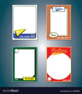 Baseball Cards with Trading Cards Templates Free Download