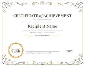 Basic Certificate Template – Oflu.bntl pertaining to Certificate Of Completion Free Template Word