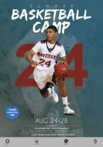 Basketball Camp Flyer Free Psd Template | Psddaddy pertaining to Basketball Camp Brochure Template