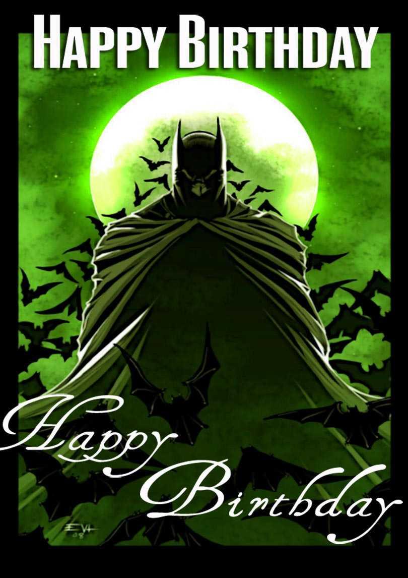 Batman Birthday Card | Free Printable Birthday Cards Inside Batman Birthday Card Template