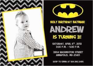 Batman Birthday Invitations Create Batman Birthday pertaining to Batman Birthday Card Template