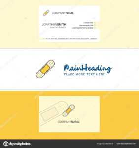 Beautiful Plaster Logo Business Card Vertical Design Vector for Plastering Business Cards Templates