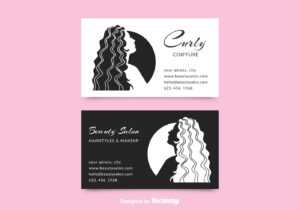 Beauty Salon Business Card Free Vector Art – (37 Free Downloads) regarding Hairdresser Business Card Templates Free
