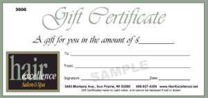 Beauty Salon Gift Certificate Template Free – Klauuuudia throughout Salon Gift Certificate Template