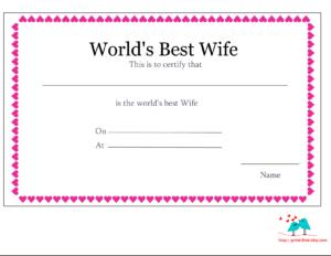 Best Certificate – Tomope.zaribanks.co for Love Certificate Templates