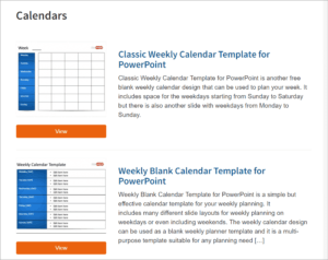 Best Free Powerpoint Calendar Templates On The Internet with Microsoft Powerpoint Calendar Template