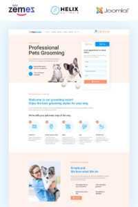 Best Pet Shop Joomla Templates | Templatemonster inside Service Dog Certificate Template
