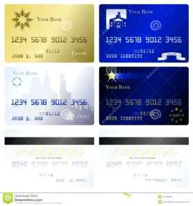Best Photos Of Credit Card Template Printable Pretend Cards in Credit Card Template For Kids