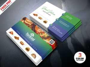 Best Restaurant Business Card Psd   Psdfreebies with Restaurant Business Cards Templates Free