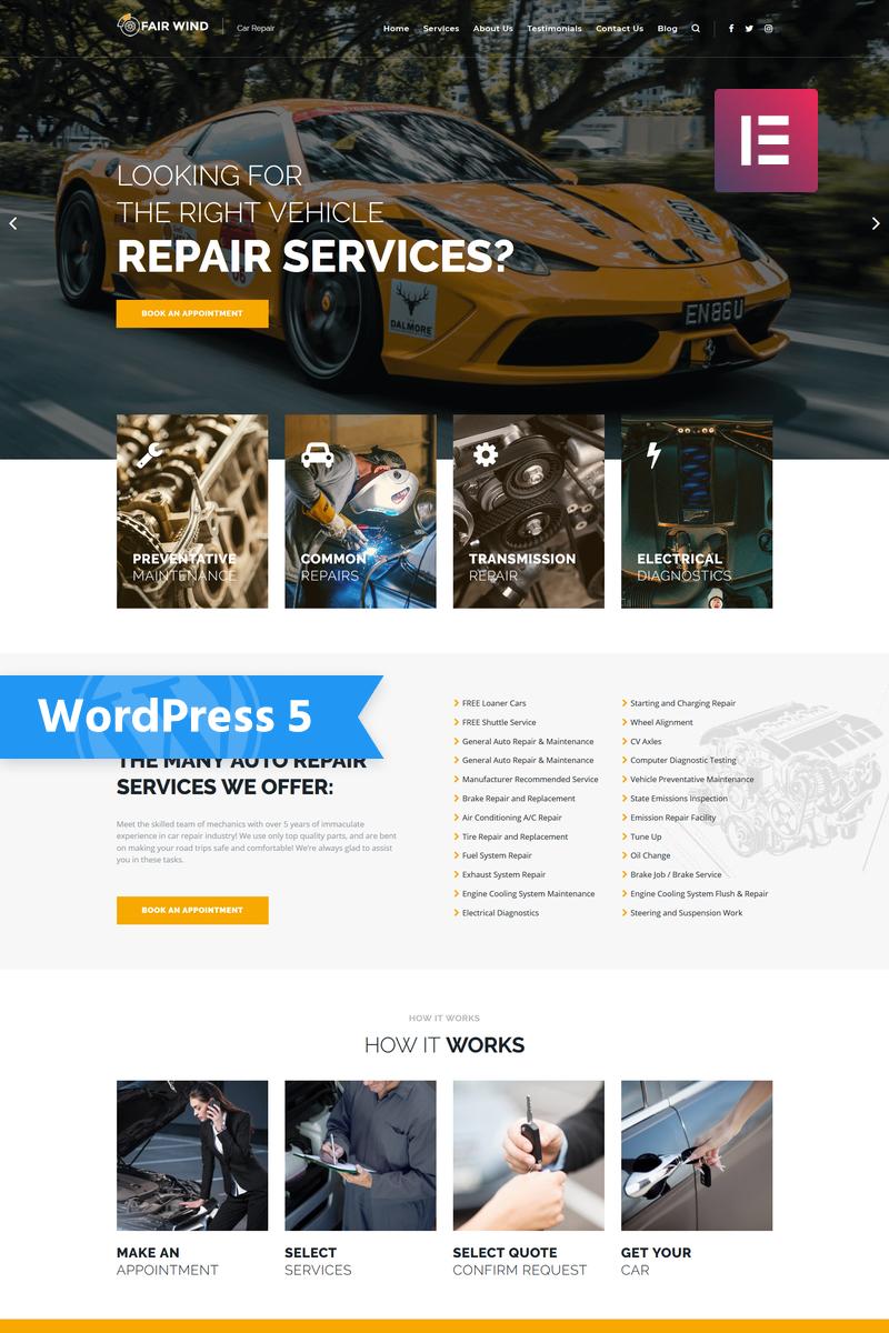 Best Selling Car WordPress Themes 2020   Templatemonster Regarding Automotive Gift Certificate Template