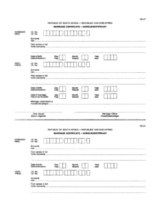 Bi 27 – Fill Out And Sign Printable Pdf Template | Signnow inside South African Birth Certificate Template
