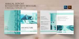 Bi-Fold Brochure Annual Conference – 4 Template throughout Brochure 4 Fold Template