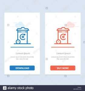 Bin, Recycling, Energy, Recycil Bin Blue And Red Download regarding Bin Card Template