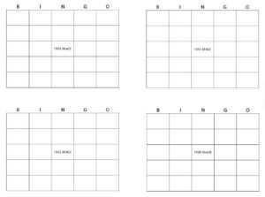 Bingo Card Maker | Make Bingo Cards » Template Haven intended for Blank Bingo Card Template Microsoft Word