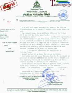 Birth Certificate Haiti Ii throughout Birth Certificate Translation Template Uscis