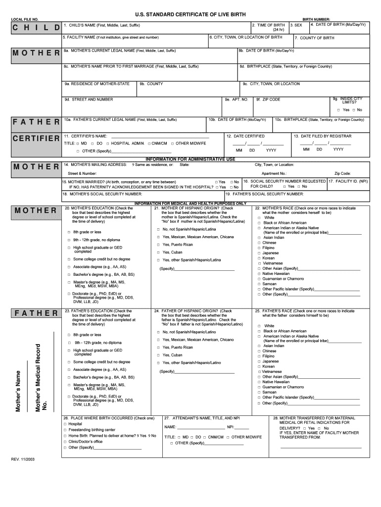 Birth Certificate Maker - Fill Online, Printable, Fillable Inside Birth Certificate Fake Template