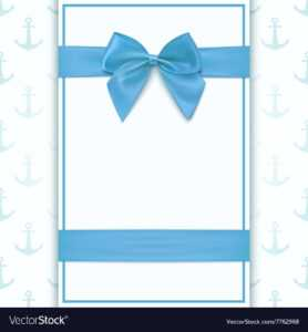 Blank Greeting Card Template throughout Free Printable Blank Greeting Card Templates