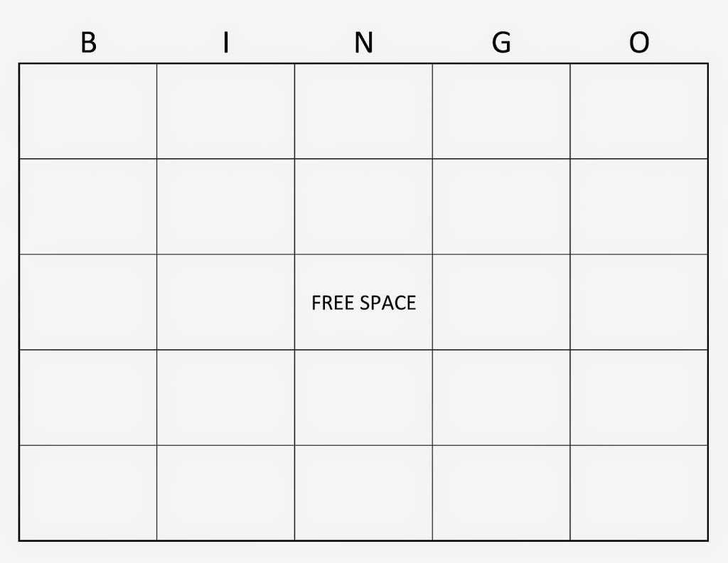 Blank Sight Word Bingo Template – Gutjop Intended For Blank Bingo Card Template Microsoft Word